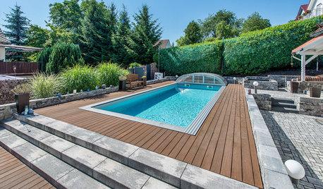 Poolüberdachungen und -abdeckungen – für dauerhaften Badespaß