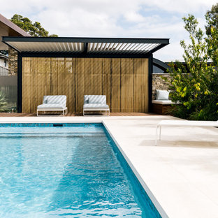 Photo of a contemporary pool in Perth.