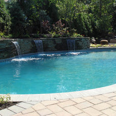 Eclectic Pool by Jodie Cook Landscape Design