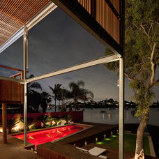 Contemporary Pool by CplusC Architectural Workshop