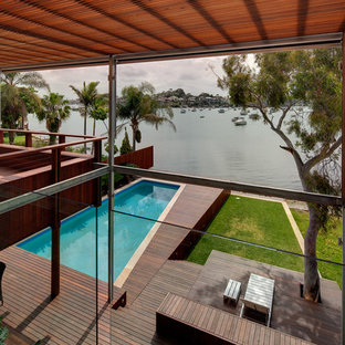 Design ideas for a contemporary lap pool in Sydney.