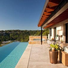 Mediterranean Pool by Jon Luce Builder