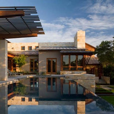 Modern Pool by Furman + Keil Architects