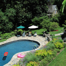 Traditional Pool by Burke Brothers Landscape Design/Build
