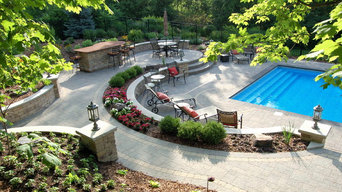 Terraced pool project