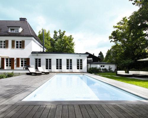 Klassischer pool design ideen bilder beispiele for Gartenpool dortmund