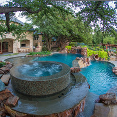 Traditional Pool by AquaTerra Outdoors