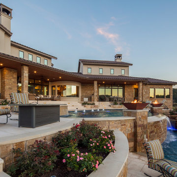 Texas Hill Country Lakehouse Plan #6260