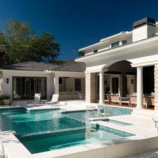 Modern Pool by The Fechtel Company