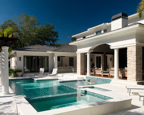 70 best tampa pool ideas remodeling photos houzz for Pool design tampa