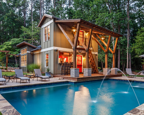 Pool House Designs Ideas backyard pool house designs make sure the style of the pool matches with your home design Pool House Design Ideas Remodels Photos