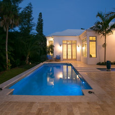 Traditional Pool by Perrone Construction
