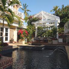 Traditional Pool by Jordan Design Studio, Ltd.