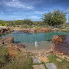 Southwestern Pool by Cascade Custom Pools