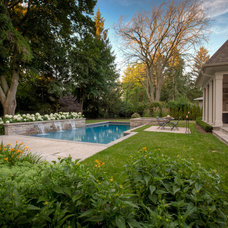 Traditional Pool by Gelderman Landscape Services