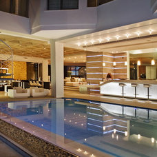 Contemporary Pool by M Square Lifestyle Design
