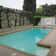 Mediterranean Pool by THE KITCHEN LADY, Enriching Homes With Style