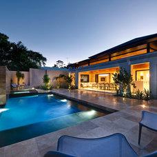 Contemporary Pool by Zorzi
