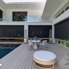 Modern Pool by Phantom Screens