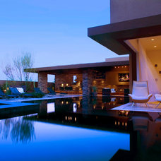 Contemporary Pool by Danielian Associates Architecture + Planning