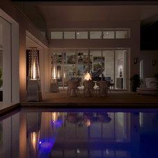 Modern Pool by Phil Kean Design Group