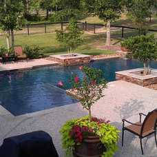 Contemporary Pool by Sensation Pools
