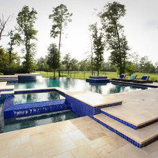 Contemporary Pool by Marquise Pools