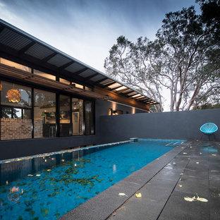 Aménagement d'une piscine industrielle.
