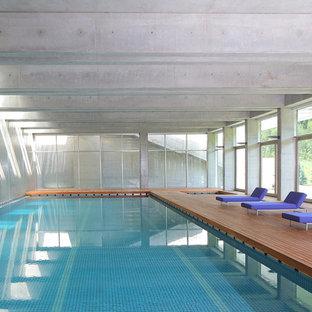 Idéer för mycket stora funkis rektangulär pooler