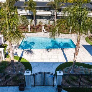 Tiburon apartments pool deck