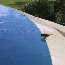 Traditional Pool by SOS Design