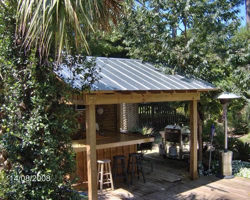 backyard bar houzz