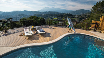 TimberTech Hillside Pool Deck
