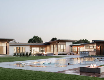 Timpanogos House in Utah County - Lloyd Architects