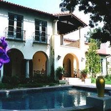 Mediterranean Pool by Tobias Architecture