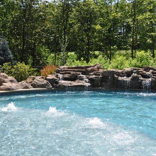 Foto e Idee per Piscine - piscina naturale Cleveland