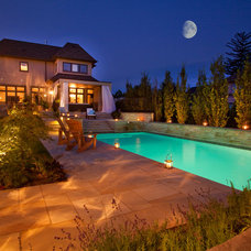 Contemporary Pool by HUSH
