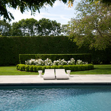 Traditional Pool by Lear & Mahoney Landscape Associates