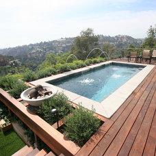 Modern Pool by Symphony Pools Inc
