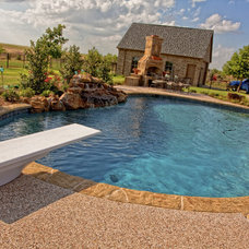 Traditional Pool by Sam's Outdoor Living