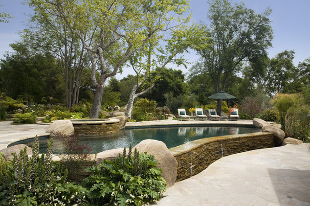 Traditional Pool by Becker Studios
