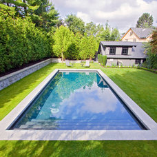 Traditional Pool by Alka Pool Construction Ltd