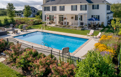 Yard of the Week: Pool, Pergola and Gardens in Wisconsin