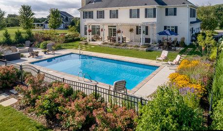 Yard of the Week: Pool, Pergola and Gardens in Wisconsin