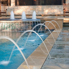 Traditional Pool by Exterior Worlds Landscaping & Design