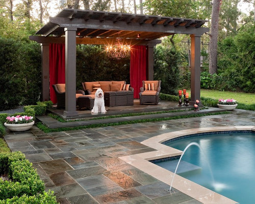 Best Slanted Pergola Design Ideas & Remodel Pictures | Houzz