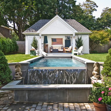 Traditional Pool by Benco Construction