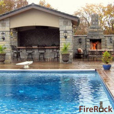 Traditional Pool by FireRock Products