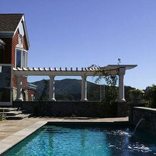 Traditional Pool by David Ludwig - Architect