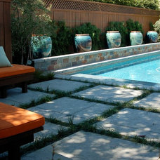 Traditional Pool by Shades Of Green Landscape Architecture